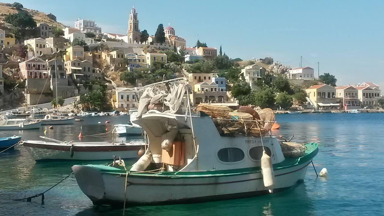 Fischer in Griechenland