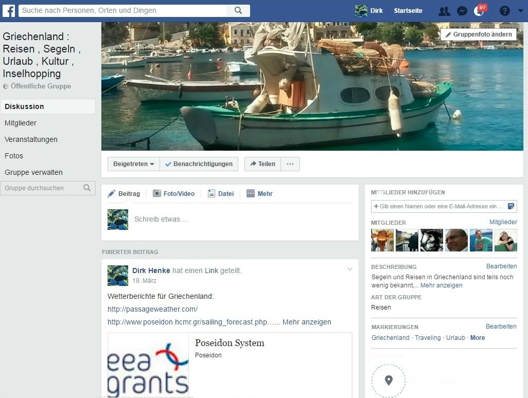 Unserer Gruppe bei Facebook